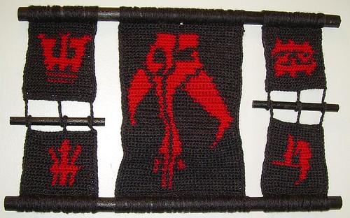 Star Wars' Durge Symbols Tapestry