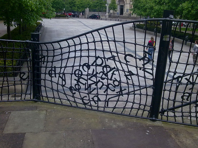 Photo:Captcha fence By:Didier Jansen