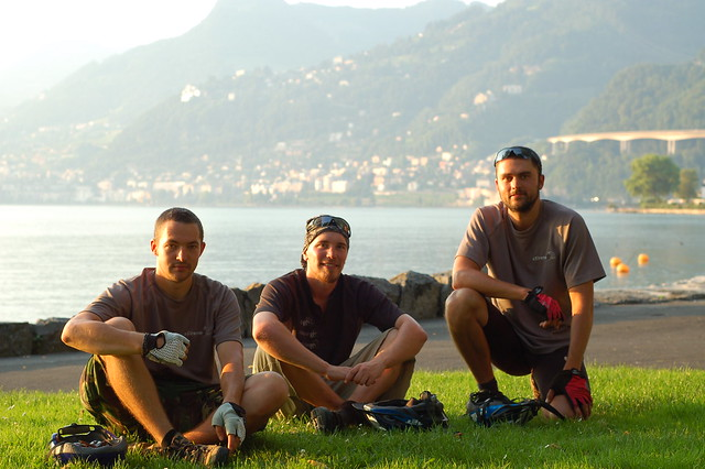 Tom, Mark and Andy in Montreux