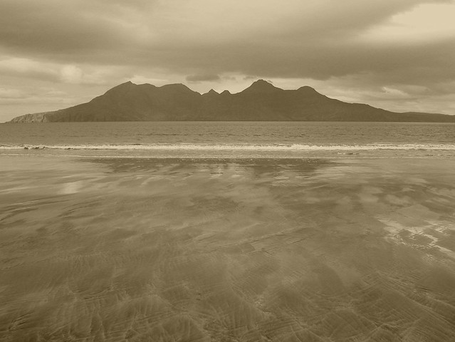 Rum from Eigg, March 2005