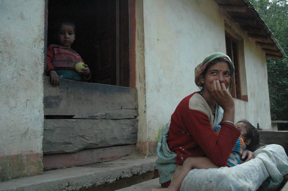 Mothering...Bhimtal, Uttarakhand