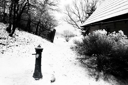 Water under the Snow (De l'eau sous la neige), Vlkolinec - Photo : Gilderic