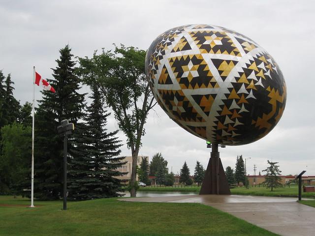 Pysanka in Vegreville Alberta  Flickr  Photo Sharing