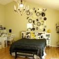 Modern yellow black white bedroom decor black white and yellow bedroom