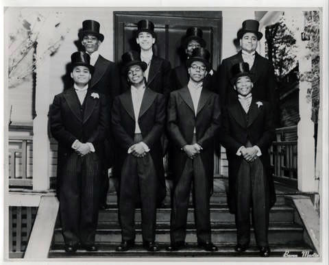 Martin Luther King Jr. Pledging Alpha Phi Alpha, circa 1952
