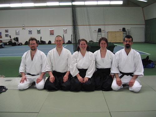 Friends and aikido..