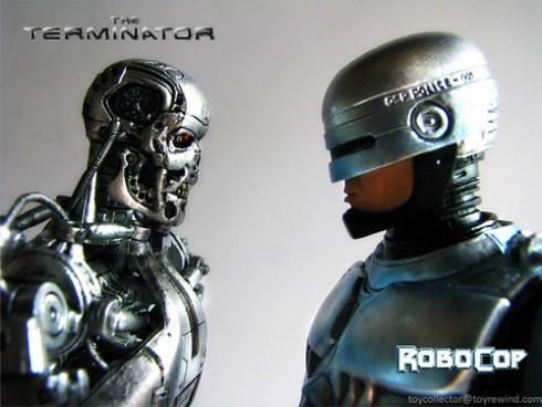 Terminator T-800 vs Robocop