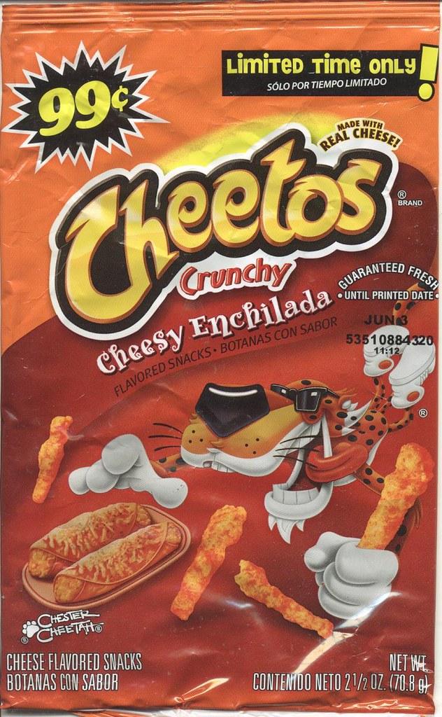 Cheetos Enchilada