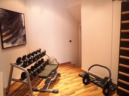 Fitness / Exercise room Hotel de la Paix