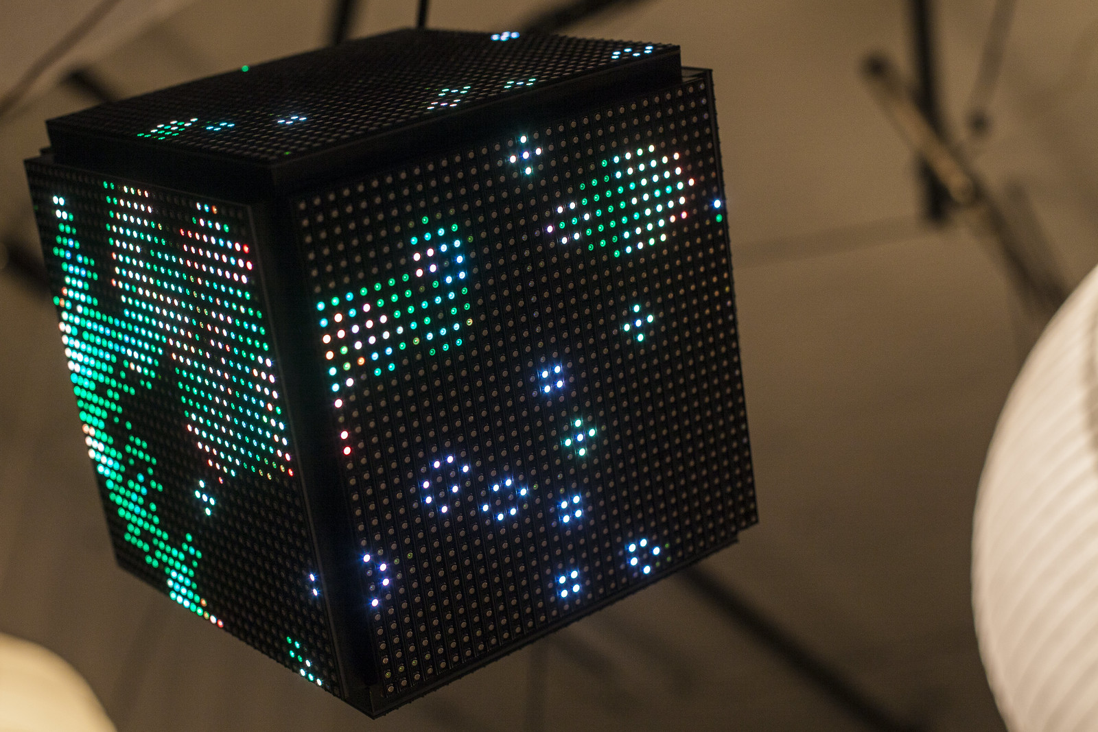 Trammell's LED matrix cube. by wwward0