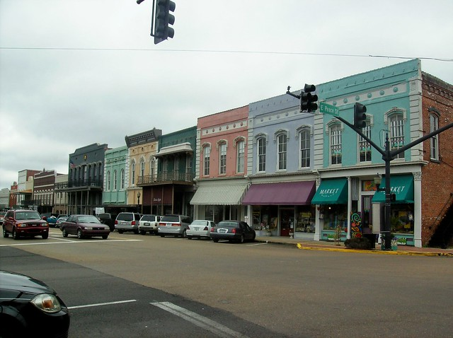 Beautiful Downtown Canton Mississippi Flickr Photo