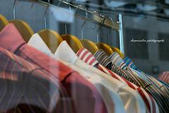 tienda Zegna, trajes en percha