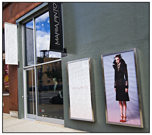 Maria Pinto's boutique