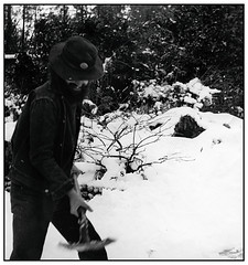 George Shovelling Snow - Frostpocket