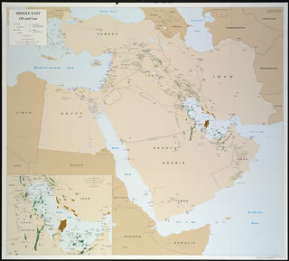 Middle East, oil and gas ;