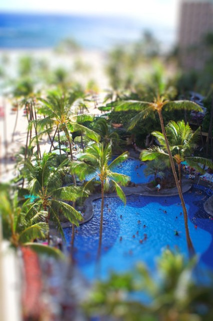 tilt shift photography hawaii