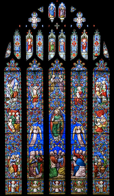 Kinver Church stained glass window  Flickr  Photo Sharing