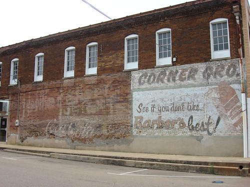 Barber's Milk Mural, Pontotoc Mississippi