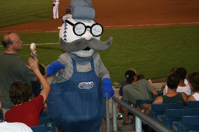 Baseball Head Dude