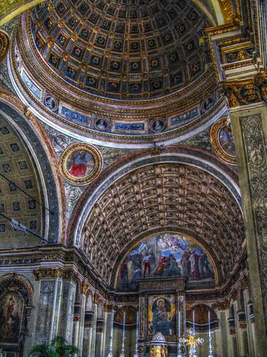 Santa Maria presso san Satiro, HDR.