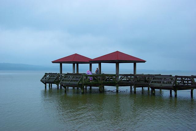 Fishing Pier, Lake Dardanelle State Park, Arkansas, August 10, 2008