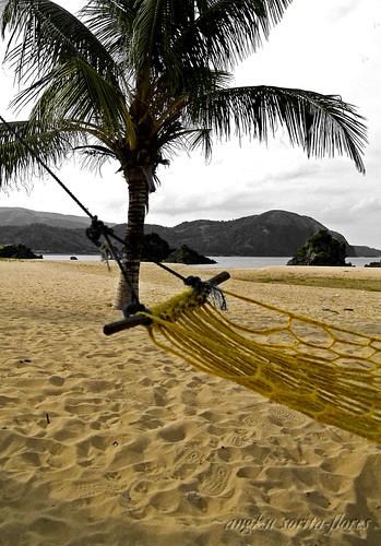 yellow hammock in puraran