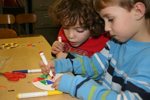African art class on 12/11/08