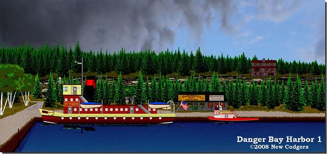 Danger Bay Harbor 1 ©2008-13 Jack Boardman