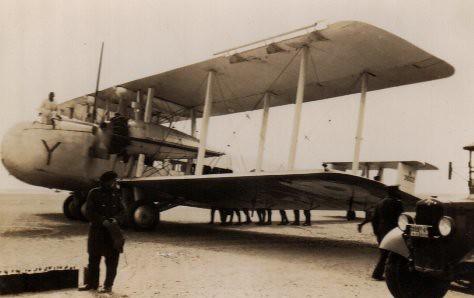 A Vickers Valencia Bomber