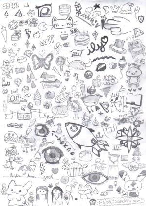 Simple Drawings Random 1