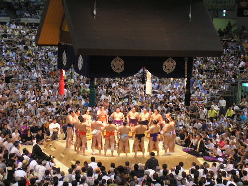 Sumo, Nagoya, 20th July 2008