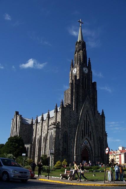 Igreja de pedra, Canela, RS