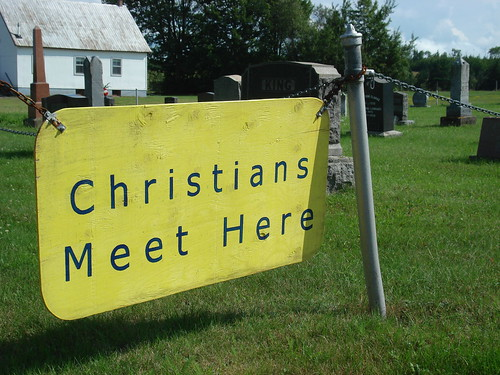 Christians meet here