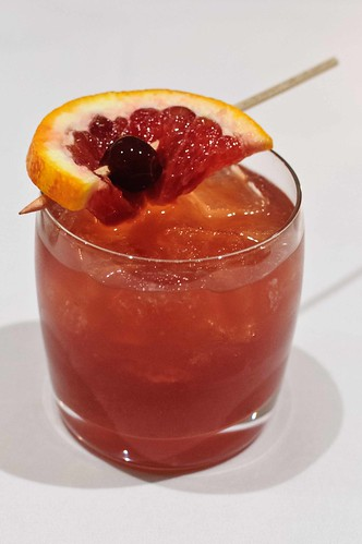 Blood Orange Old Fashion