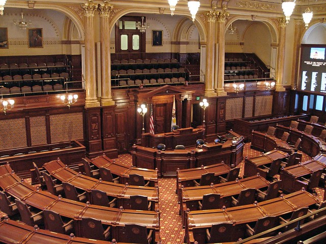 Springfield  Senate Chamber Illinois State Capitol