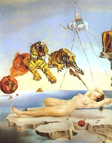 Salvador Dalí, Dream Caused by the Flight of a...