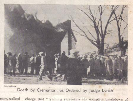 Lynching in Maryville Missouri in 1931