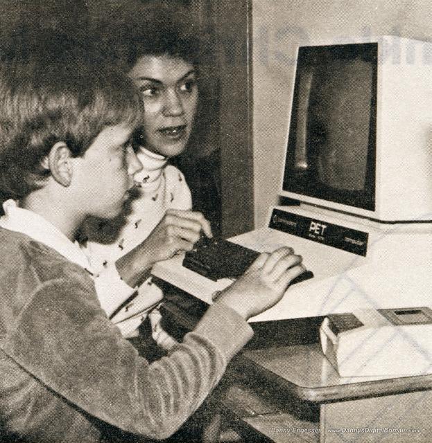 Me @ PET computer 1982