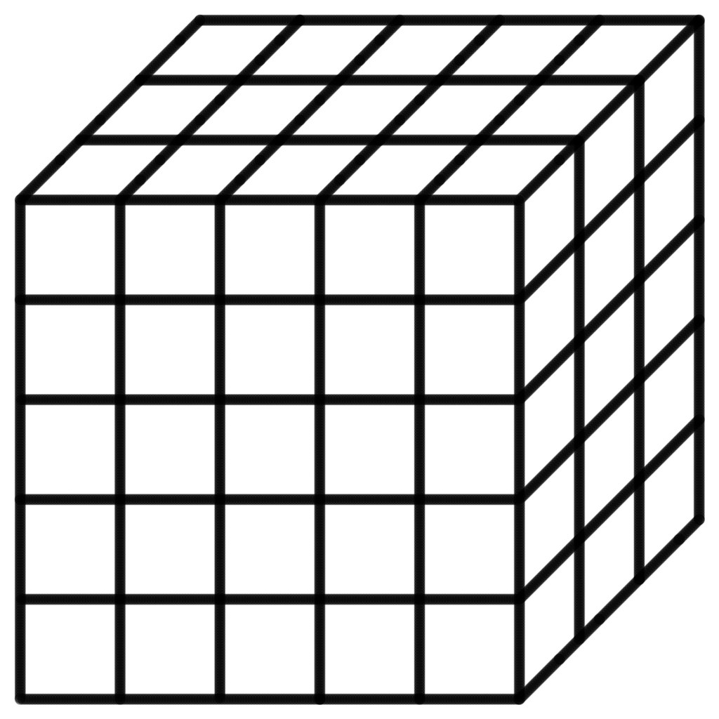 75 Sectioned Rubik S Cube Template