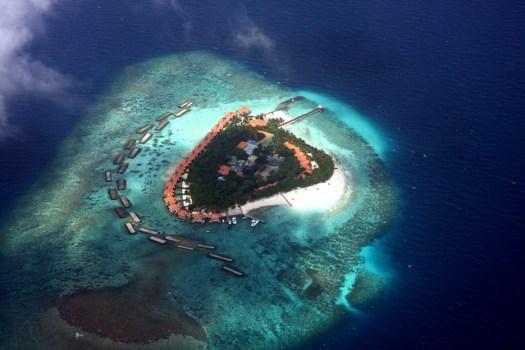 Coral Island - Maldives
