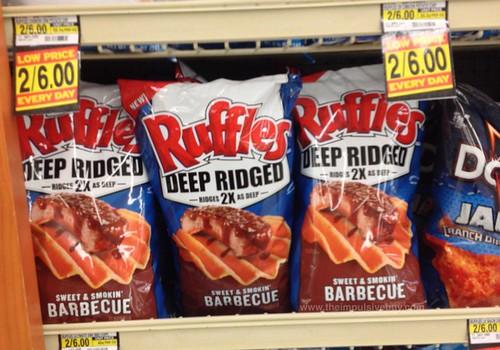 Ruffles Deep Ridged Sweet & Smokin' Barbecue