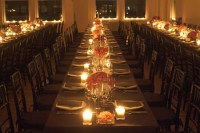 candles-centerpieces-table-settings-wedding-reception - a ...