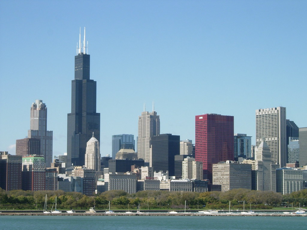 Chicago Skyline  Flickr  Photo Sharing