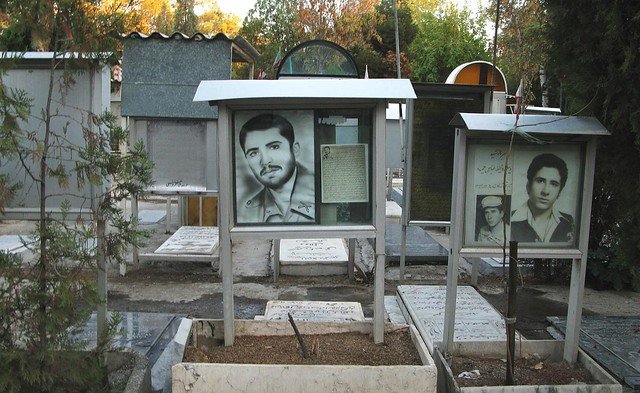 Cementerio de Behesht-e Zahra, Teherán