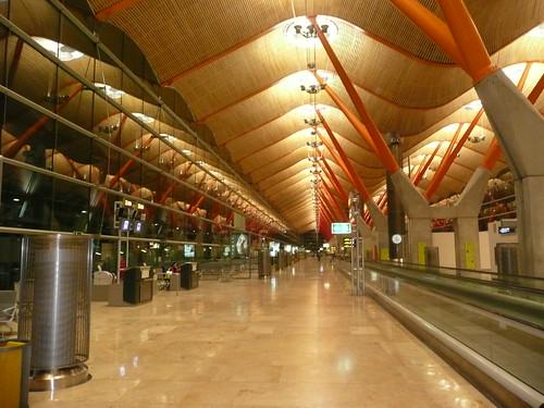 aeropuerto de Madrid - Terminal 4