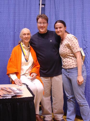 Jane Goodall, Michael & Catherine