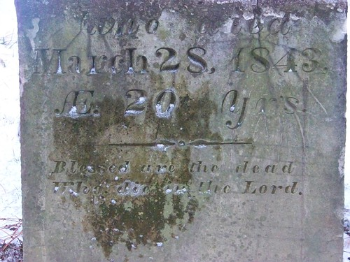 Damaged Tombstone
