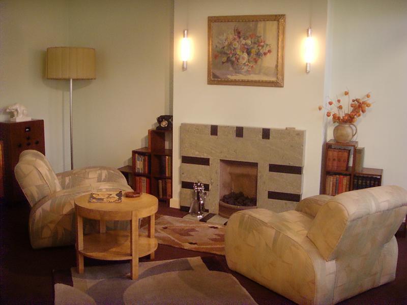 1930s interior design living room indian sitting in room: london art deco | flickr ...
