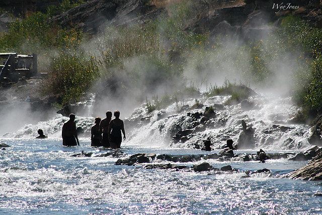 Boiling River Outlet into the Gardner River