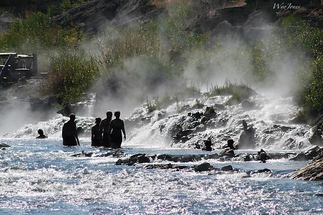 Boiling River Outlet into the Gardner River
